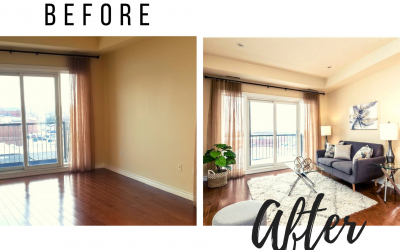 Home Staging Before and After